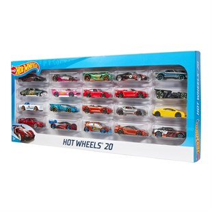 Hot Wheels 20li Araba Seti