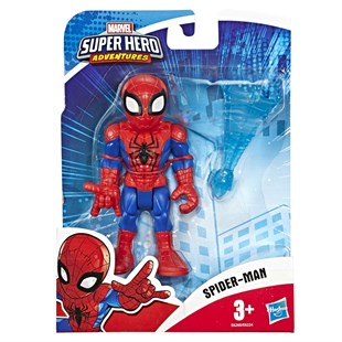Marvel Super Hero Adventures Mega Mini Figür Spider Man E6224-E6260