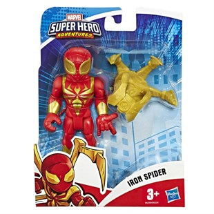 Marvel Super Hero Adventures Mega Mini Figür İron Spider E6224-E6259